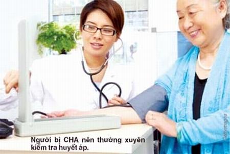 Hướng dẫn dành cho người cao huyết áp